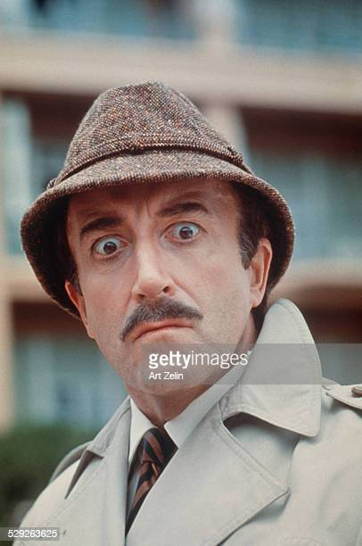 Peter Sellers as Insp Jacques Clouseau from 'The Pink Panther' 1963