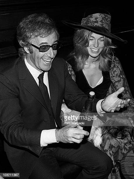 Peter Sellers getting married to Miranda Quarry on August 24 1970 in London England