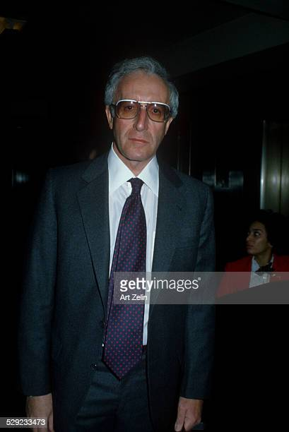 Peter Sellers in a jacket and tie circa 1970 New York