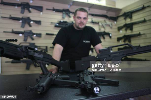 Peter Sharpe proprietor of the Go Tactical airsoft shop in Bray County Wicklow
