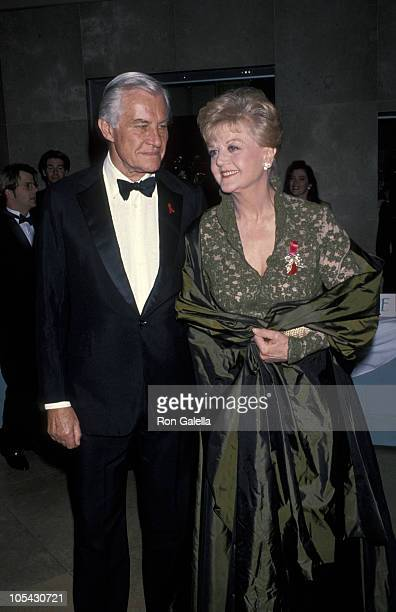 Peter Shaw and Angela Lansbury during American Ireland Fund Heritage Award Dinner Honors Angela Lansbury at Beverly Hilton Hotel in Beverly Hills...