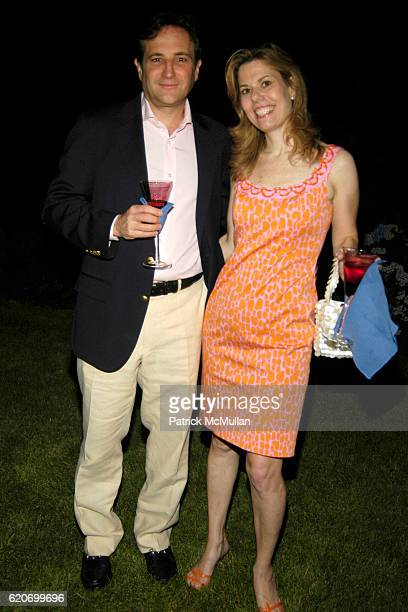 Peter Sheft and Nancy Sheft attend The Rush Philanthropic ART FOR LIFE Party hosted by Don and Katrina Peebles at The Home of Don and Katrina Peebles...