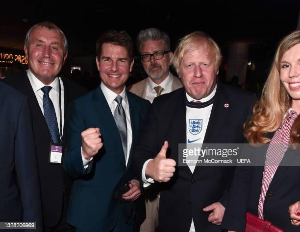 Peter Shilton, Former England International, Actor Tom Cruise, Film Director Christopher McQuarrie, Boris Johnson, Prime Minister of the United...