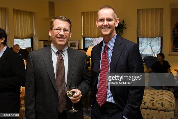 Peter Simmons and Jerl Surratt attend Spring Benefit for the Ricardo O'Gorman Garden and Center for Resources in the Humanities at 708 Greenwich St....