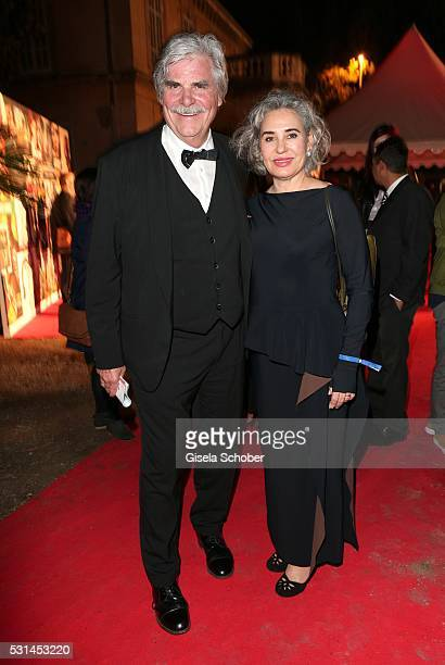 Peter Simonischek and his wife Brigitte Karner during the German Films Reception at the annual 69th Cannes Film Festival at Villa Rothschild on May...