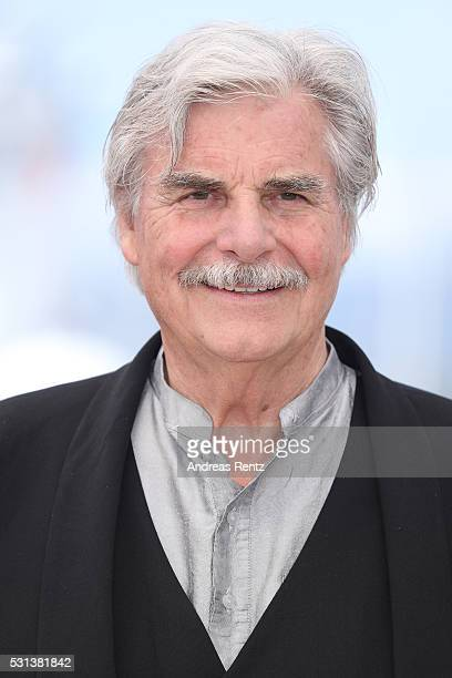 Peter Simonischek attends the 'Toni Erdmann' photocall during the annual 69th Cannes Film Festival on May 14 2016 in Cannes France
