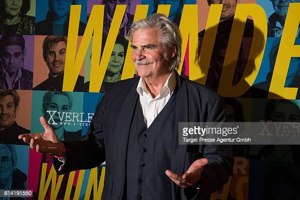 Peter Simonischek during the Berlin premiere of the film 'Die Welt der Wunderlichs' at Kant Kino on October 12, 2016 in Berlin, Germany.