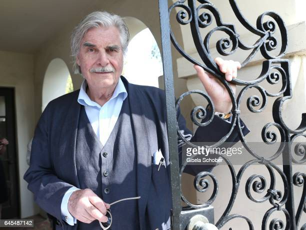 Peter Simonischek during the German Oscar nominees reception at The Villa Aurora on February 25 2017 in Pacific Palisades California