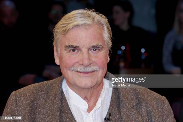 Peter Simonischek during the NDR Talk Show on January 10, 2020 in Hamburg, Germany.