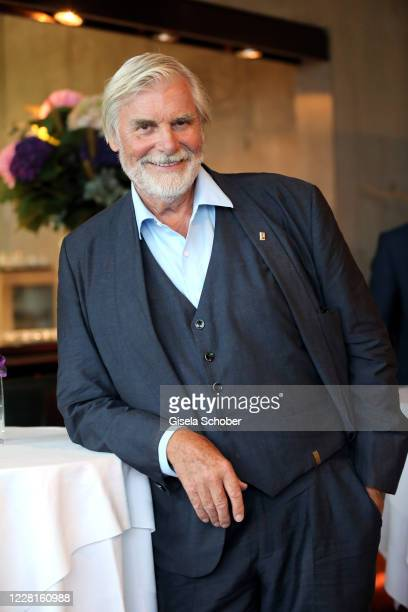 """Peter Simonischek during the reading of """"Jedermann"""" according to the 100th anniversary of the Salzburg Opera Festival at M32 restaurant at..."""