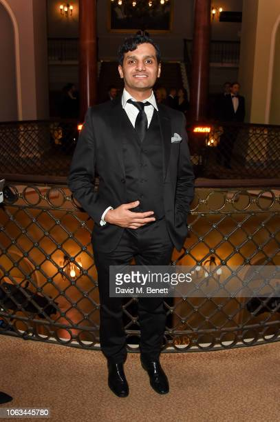 Peter Singh attends The 64th Evening Standard Theatre Awards at the Theatre Royal Drury Lane on November 18 2018 in London England