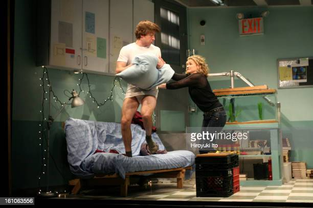 Peter Sinn Nachtrieb's Boom directed by Alex Timbers at Ars Nova on Friday March 7 2008This imageMegan Ferguson as Jo and Lucas NearVerbrugghe as...