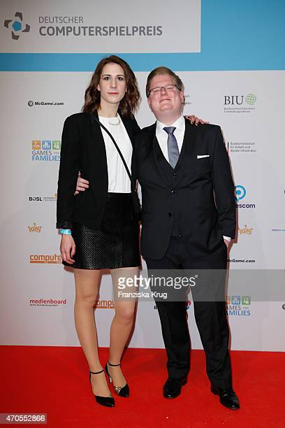 Peter Smits attends the German Computer Games Award 2015 at eWerk on April 21 2015 in Berlin Germany