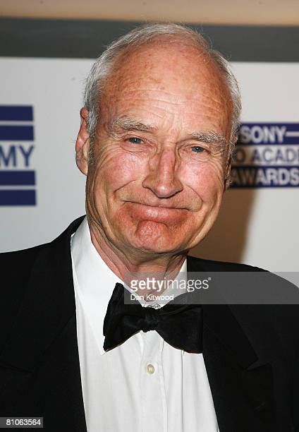 Peter Snow arrives for the Sony Radio Academy Awards at Grosvenor House on May 12 2008 in London England