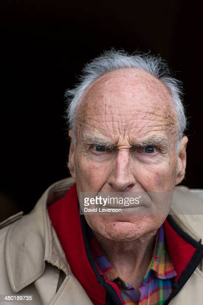 Peter Snow journalist and television news presenter on Day 2 of the FT Weekend Oxford Literary Festival on March 23 2014 in Oxford England