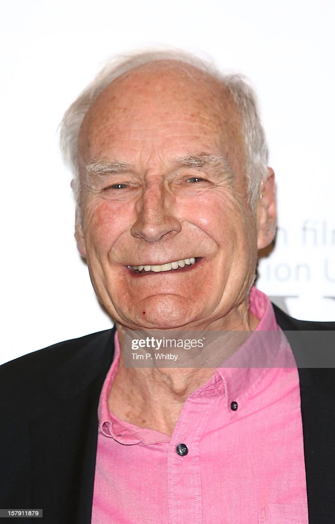 Peter Snow poses for a photograph in the press room at the Women in TV & Film Awards at London Hilton on December 7, 2012 in London, England.