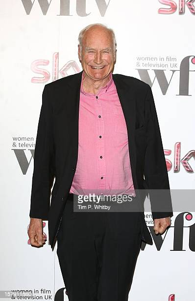Peter Snow poses for a photograph in the press room at the Women in TV Film Awards at London Hilton on December 7 2012 in London England
