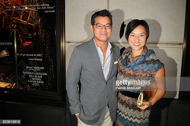 Peter Som and Christine Y Kim attend The NEW YORK TIMES BERGDORF GOODMAN Celebrate a Photography Retrospective by BILL CUNNINGHAM at Bergdorf Goodman...