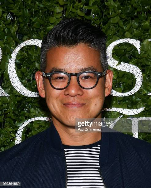 Peter Som attends the 2018 CFDA Fashion Awards' Swarovski Award For Emerging Talent Nominee Cocktail Party at DUMBO House on May 16 2018 in New York...
