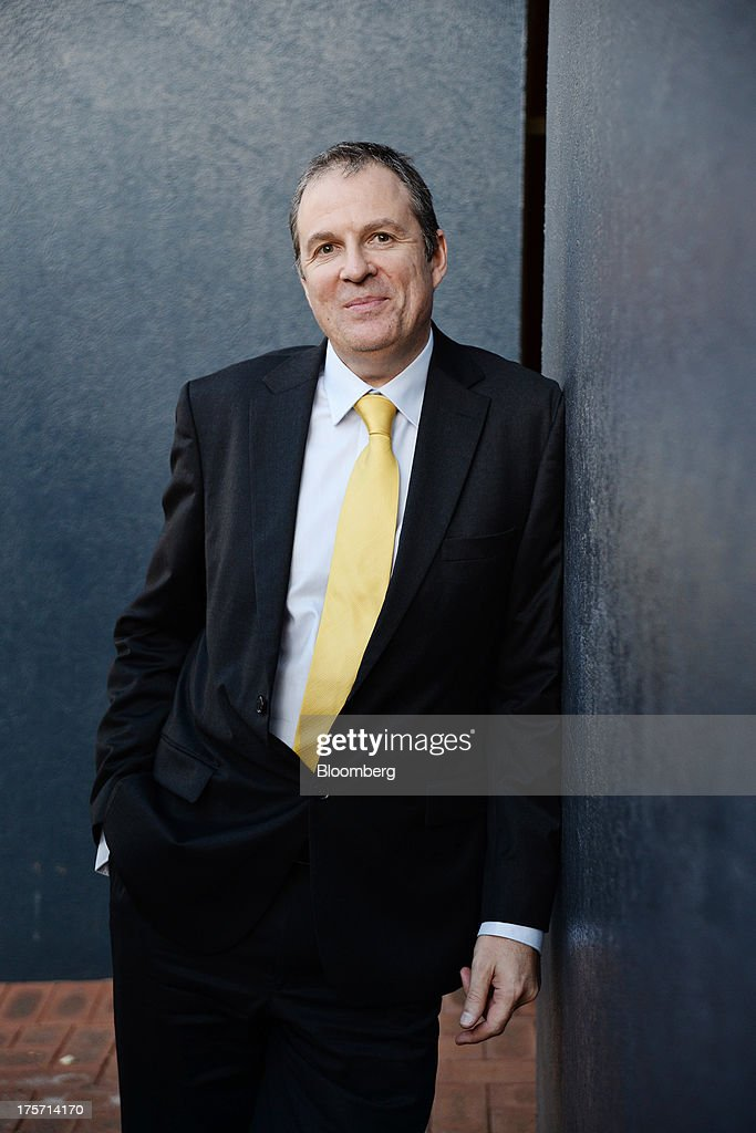 Peter Spiers, managing director of Orbis Gold Ltd., poses for a photograph during the Diggers and Dealers mining forum in Kalgoorlie, Australia, on Tuesday, Aug. 6, 2013. The Diggers and Dealers mining forum runs from Aug. 5-7. Photographer: Carla Gottgens/Bloomberg via Getty Images