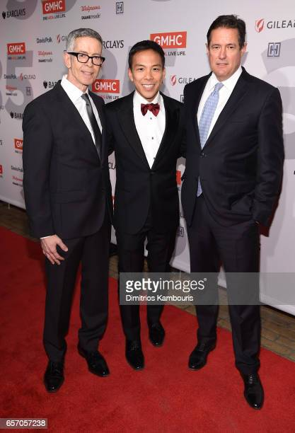 Peter Staley Chief Executive Officer Gay Men's Health Crisis Kelsey Louie and Jes Staley attend the GMHC 35th Anniversary Spring Gala at Highline...