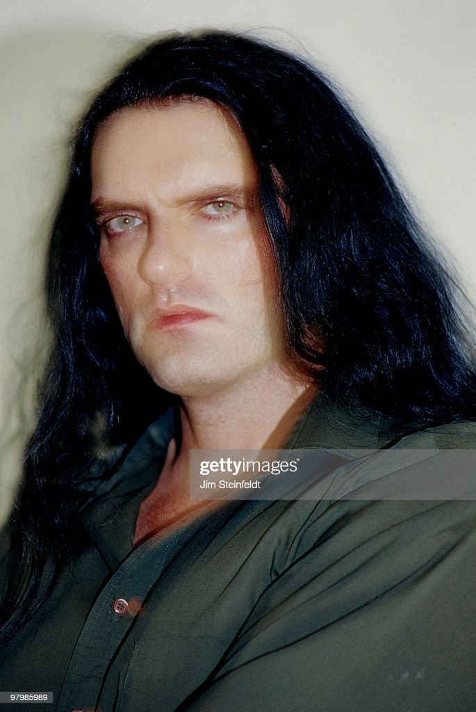 Peter Steele of Heavy Metal band Type O Negative poses for a portrait in Los Angeles, California on July 25, 1999.