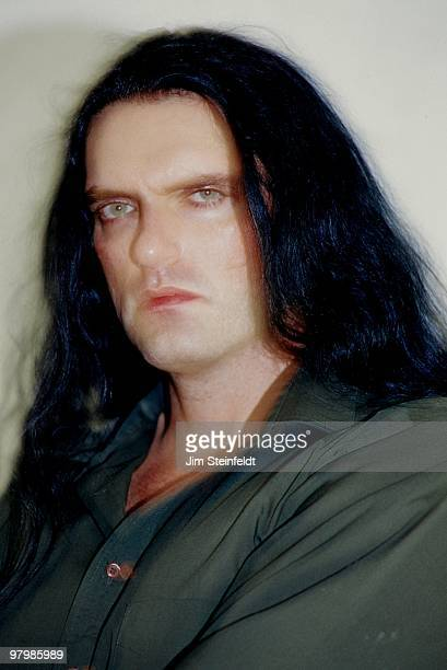 Peter Steele of Heavy Metal band Type O Negative poses for a portrait in Los Angeles California on July 25 1999