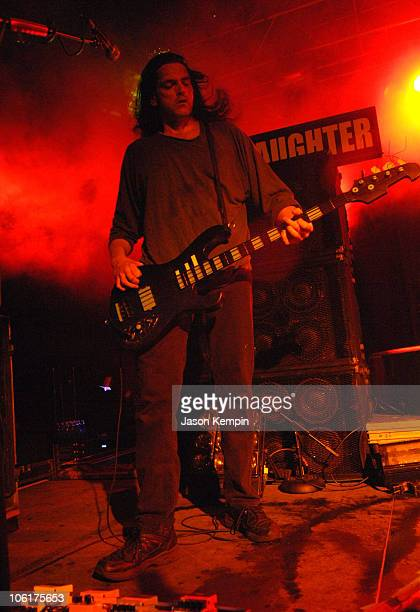 Peter Steele of Type O Negative during Type O Negative Performs On Their Dead Again Tour March 30 2007 at Starland Ballroom in Sayreville New Jersey...
