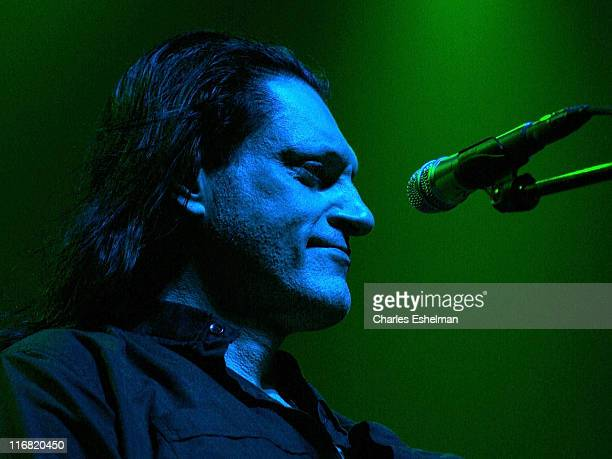 Peter Steele of Type O Negative performs at Terminal 5 on June 28 2008 in New York City