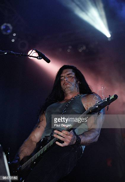 Peter Steele of TypeO Negative performs on stage on May 17th 1997 in Eindhoven Netherlands