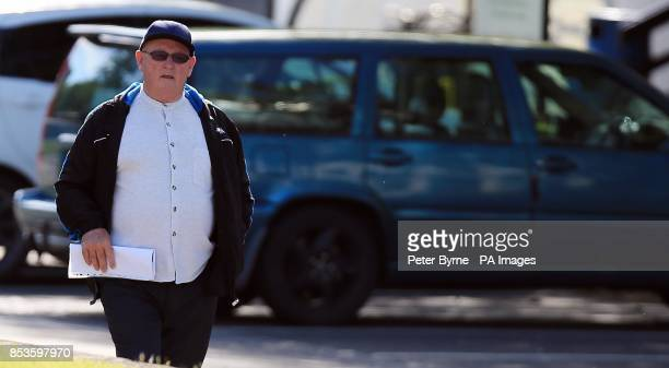 Peter Steen Bradley Wrexham arrives at Mold Magistraites Court Flintshire North Wales where he appeared accused of physical not sexual abuse after an...