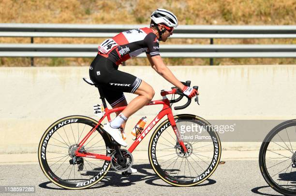 Peter Stetina of The United States and Team Trek Segafredo / during the 99th Volta Ciclista a Catalunya 2019 Stage 3 a 179km stage from Sant Feliu de...