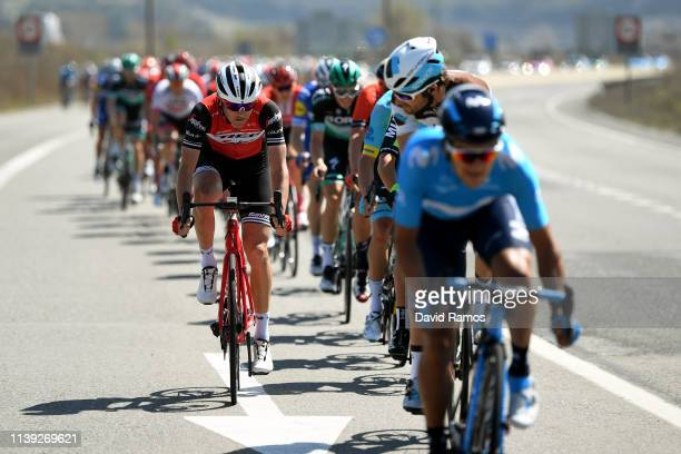 Peter Stetina of The United States and Team Trek Segafredo / during the 99th Volta Ciclista a Catalunya 2019 Stage 6 a 1691km stage from Valls to...