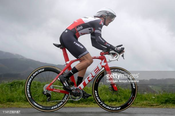 Peter Stetina of The United States and Team Trek Segafredo / during the 59th ItzuliaVuelta Ciclista Pais Vasco 2019 Stage 1 a 112km Individual Time...