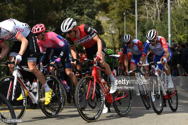 Peter Stetina of The United States and Team Trek Segafredo / Tejay Van Garderen of The United States and Team EF Education First / Anthony Delaplace...