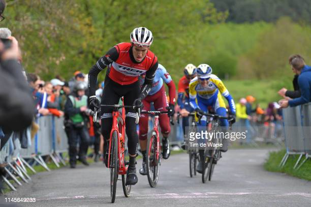 Peter Stetina of The United States and Team TrekSegafredo / Côte de La Redoute / during the 105th Liege Bastogne Liege 2019 a 256km race from Liege...