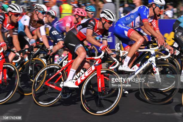 Peter Stetina of The United States and Team TrekSegafredo / during the 2019 Tour Down Under Classic a 1 hour 1 lap of 17km race from Adelaide to...