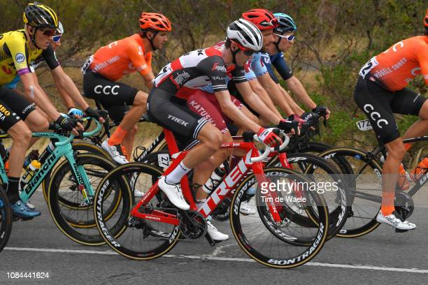 Peter Stetina of The United States and Team TrekSegafredo / during the 21st Santos Tour Down Under 2019 Stage 4 a 1292km stage from Unley to...