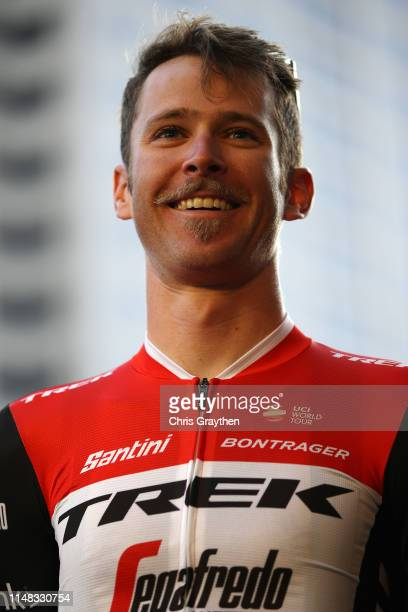 Peter Stetina of The United States and Team TrekSegafredo / during the team presentation prior to the 14th Amgen Tour of California 2019 / #AmgenTOC...