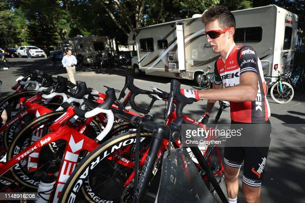 Peter Stetina of The United States and Team TrekSegafredo / during the 14th Amgen Tour of California 2019 Stage 2 a 2145km stage from Rancho Cordova...