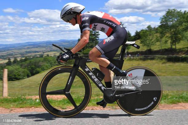 Peter Stetina of The United States and Team TrekSegafredo / during the 71st Criterium du Dauphine 2019 Stage 4 a 261km Individual Time Trial stage...