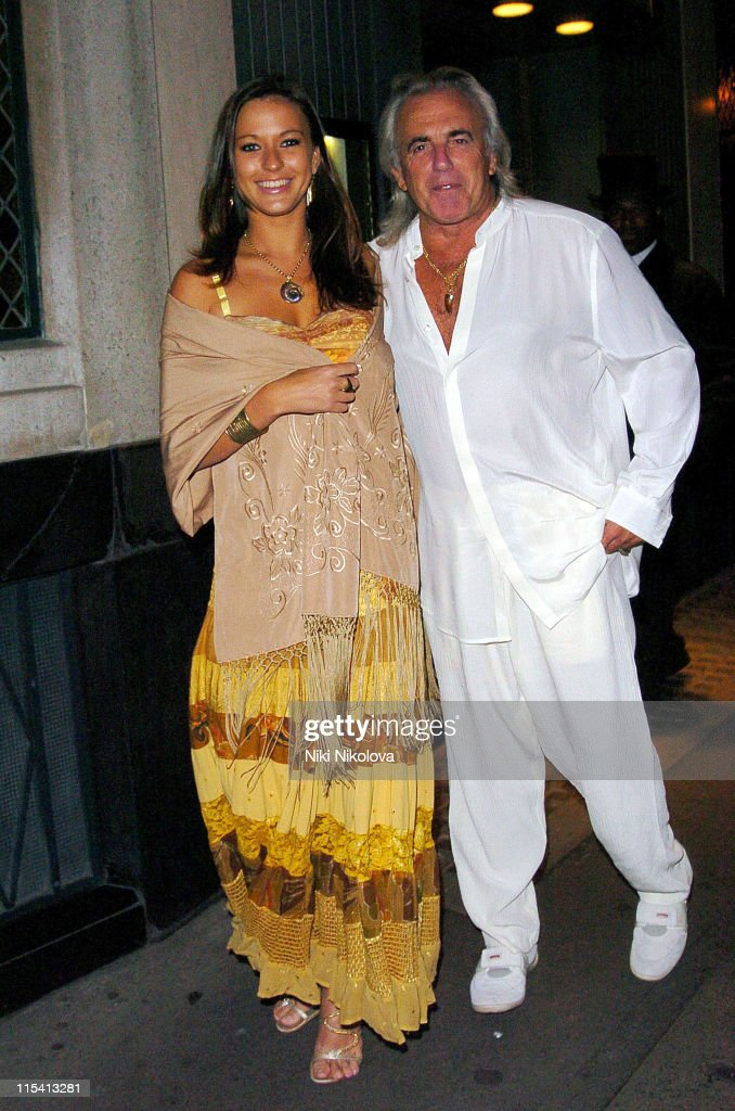 Celebrity Sightings at The Ivy Restaurant in London - August 14, 2005