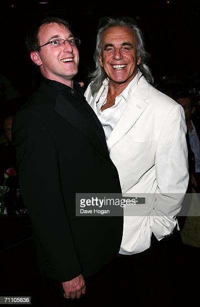 Peter Stringfellow and son Scot attend the launch of the latest Stringfellow's lap dancing club 'Stringfellows Soho' in Soho's Wardour Street on June...