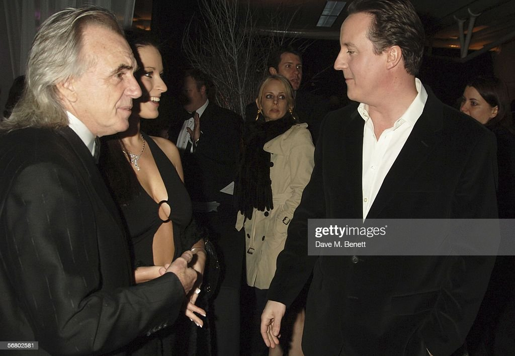 Conservative Party Black & White Ball : News Photo