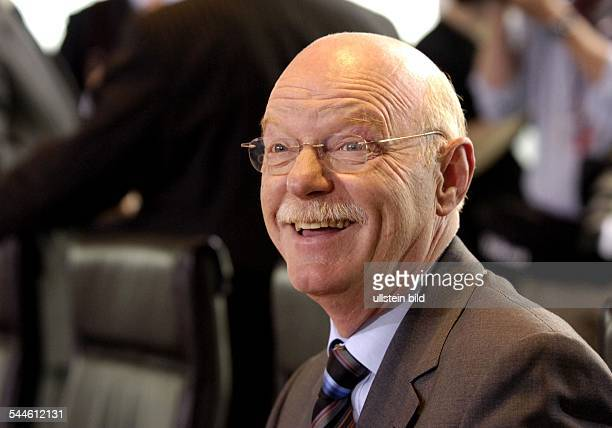 Peter Struck Bundesverteidigungsminister SPD D