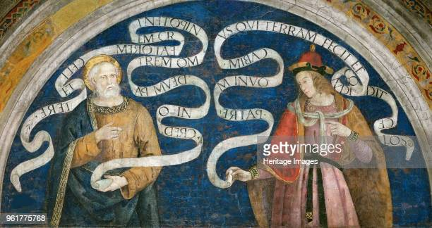Peter the Apostle and the Prophet Jeremiah 14921495 Found in the Collection of Apostolic Palace Vatican