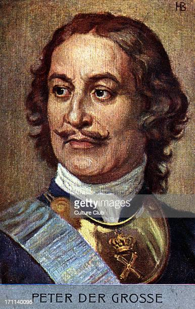 Peter The Great Tsar Peter I of Russia 16721725