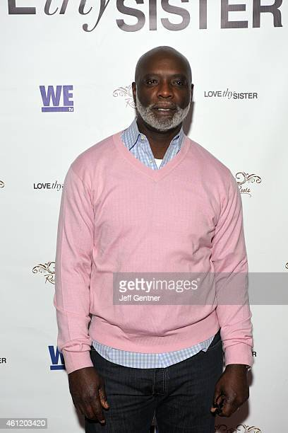 Peter Thomas of Real Housewives of Atlanta poses for a photo at the Love Thy Sister premiere party at Bar One on January 8, 2015 in Charlotte, North...