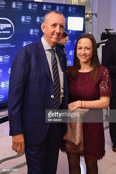 Peter Tighe and Christine Bowman attend the Longines World's Best Racehorse Longines World's Best Horserace ceremony hosted by Longines and IFHA at...