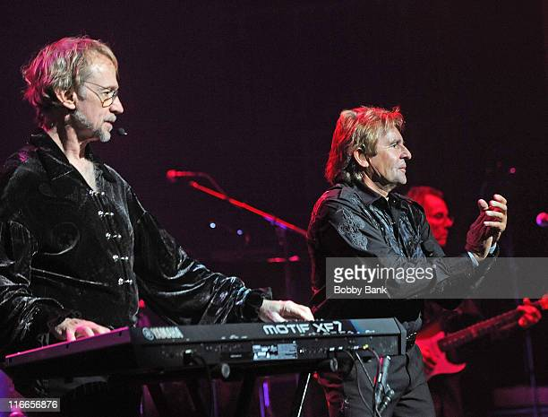 Peter Tork and Davy Jones of The Monkees performs at The Beacon Theatre on June 16 2011 in New York City